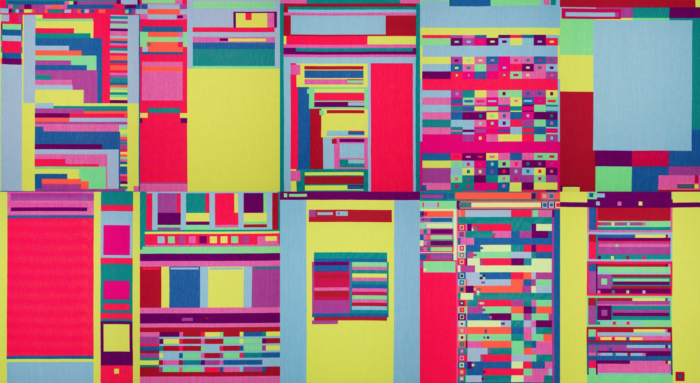 Abstract Browsing door Rafael Rozendaal
