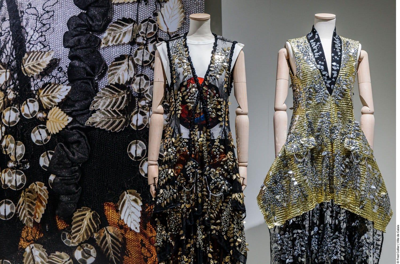 jurken gepresenteerd tijdens The Art of Lace