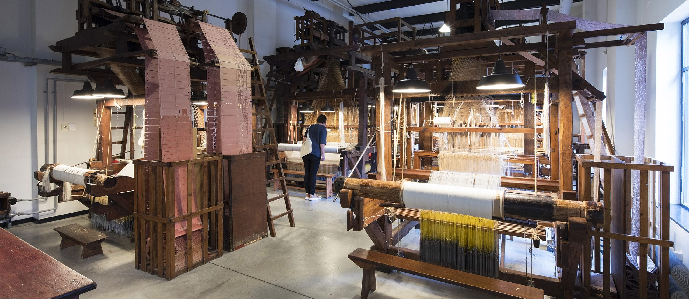 Damastweverij TextielMuseum
