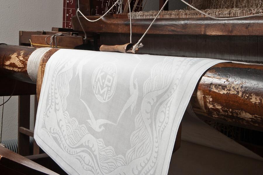 Close up damask TextielMuseum