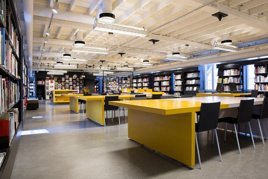ruimte bibliotheek