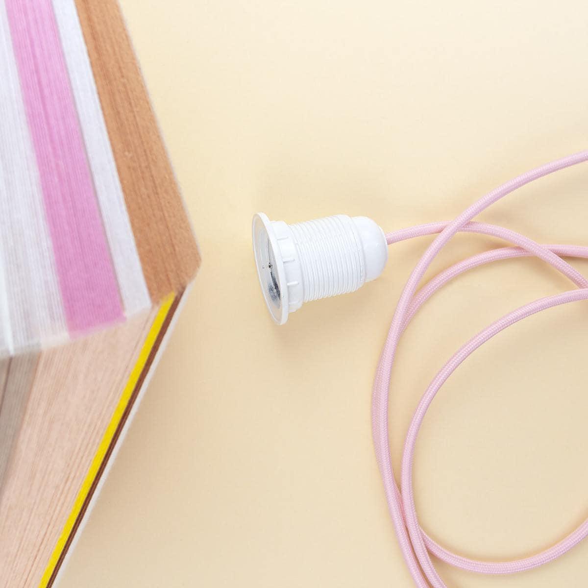 lampenkap maken met garen