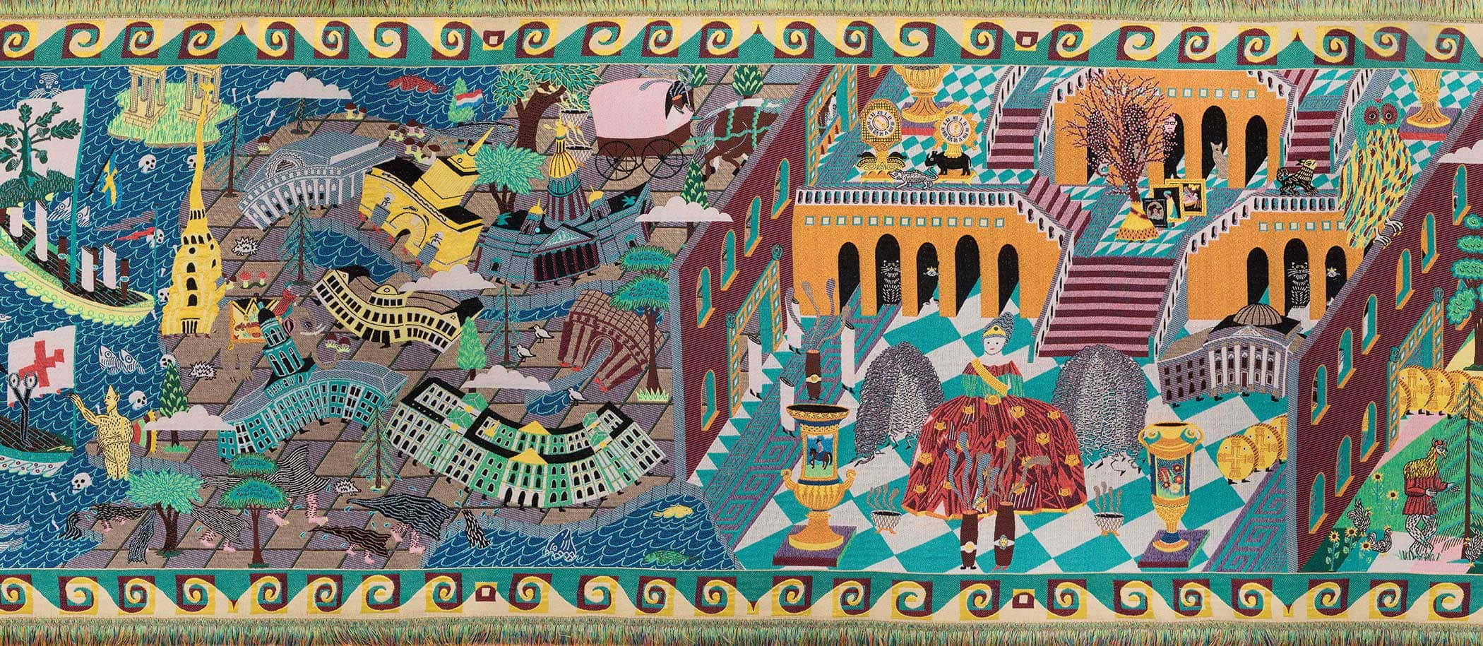 Koen Taselaar werk tapijt