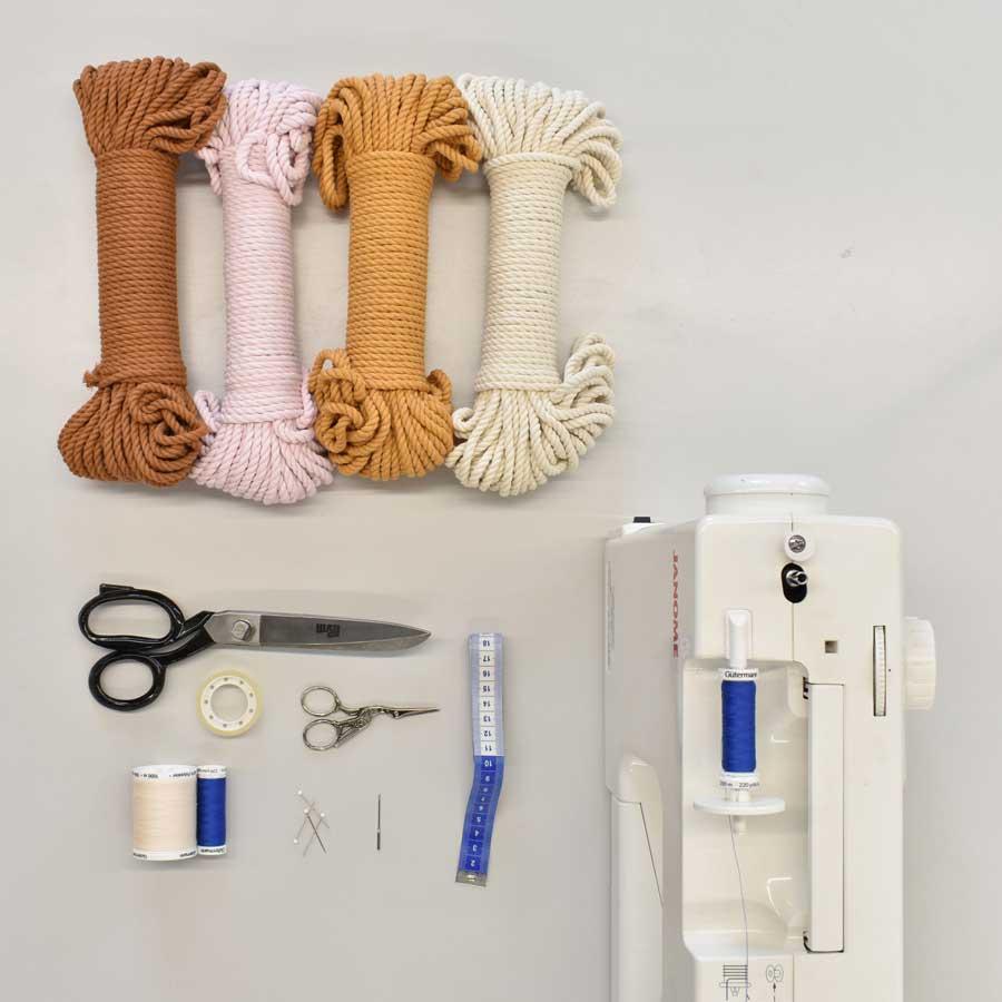 workshop rope basket
