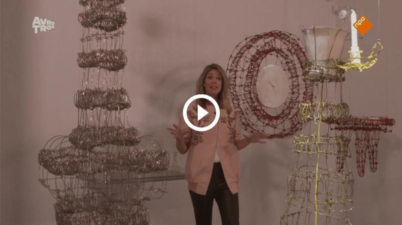 floating frames Gedachtespinsels Kiki van Eijk TextielMuseum