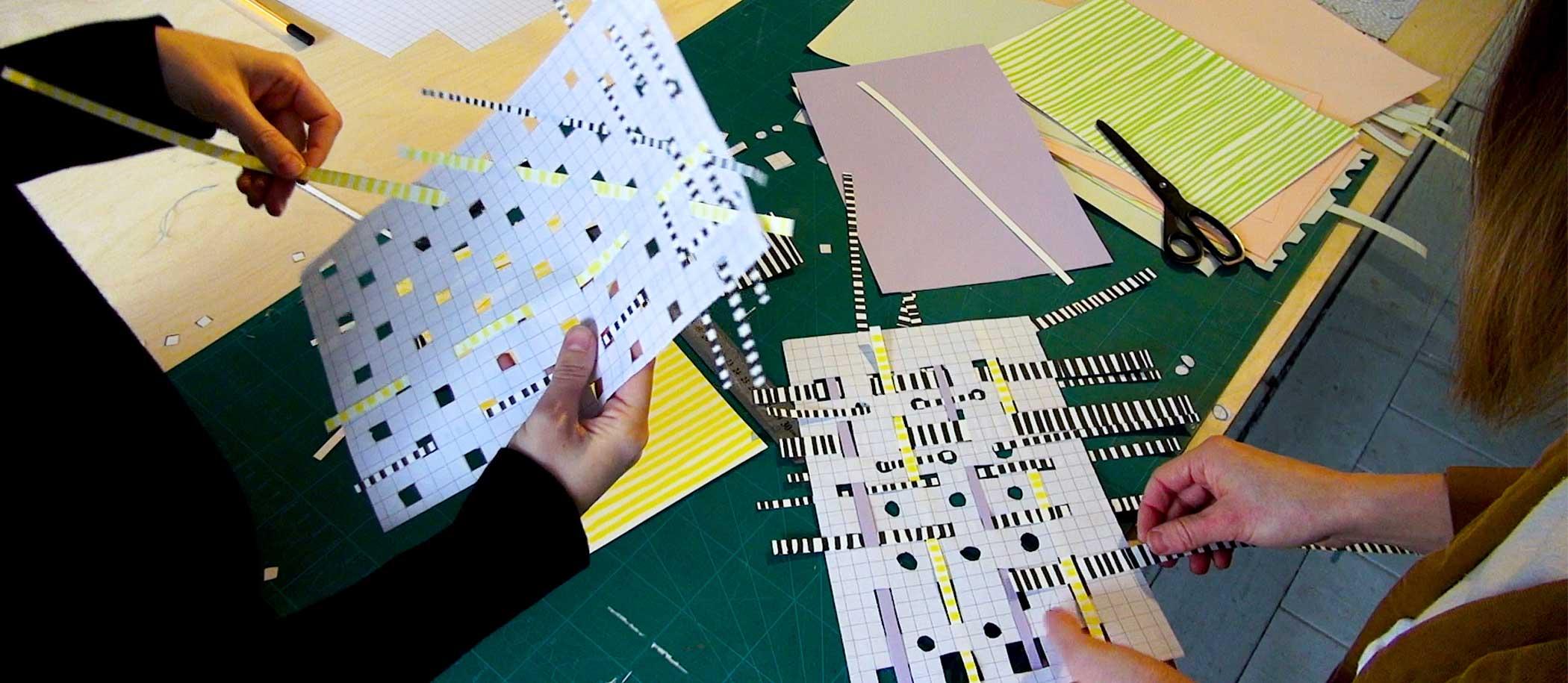 Map met papier