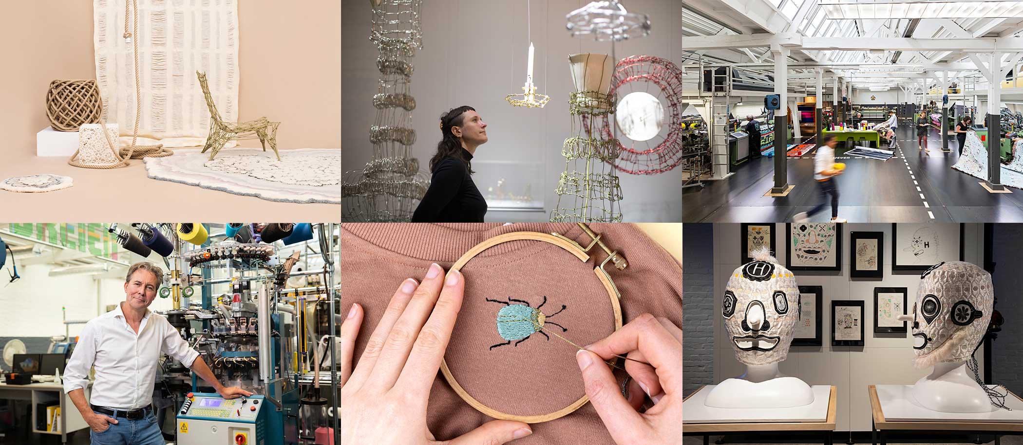collage nationale museumweek online TextielMuseum programma activiteiten