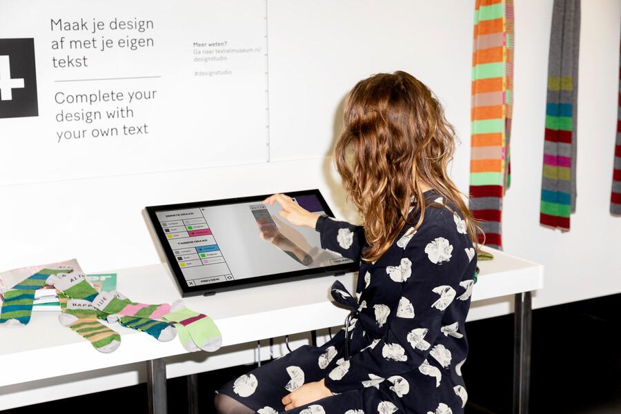 design studio sokken sjaal textiellab textielmuseum
