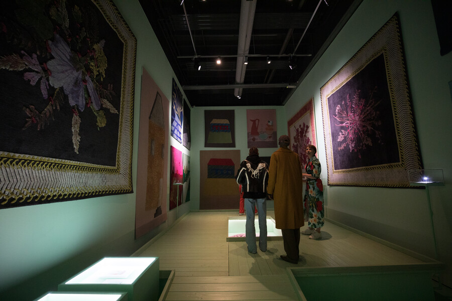 Gedachtespinsels kiki van eijk theun mosk imaginings textielmuseum