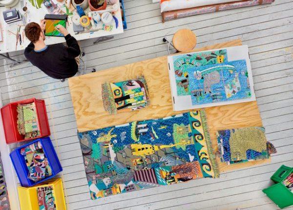 bovenaanzicht studio Koen Taselaar